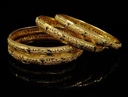 gold wedding bracelet images Indian women traditional kada bangle set wedding bracelets bridal jpg