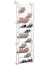 Door Shoe Organizer Over The Door Shoe Rack For 36 Pairs Wall Hanging Closet Organizer