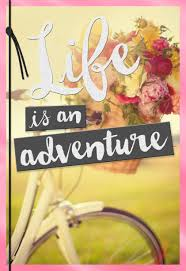 life is an adventure bicycle birthday card for daughter greeting