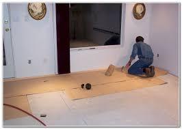 best wood floor underlayment meze