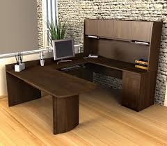 U Shaped Desk Bestar Executive U Shaped Desk