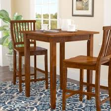 Pub Tables  Bistro Sets Youll Love Wayfair - Bar table for kitchen