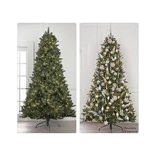 christmas tree prelit 7 5 pre lit forever fragrant scented christmas tree