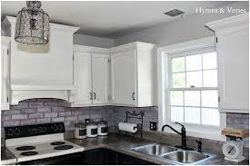 faux brick kitchen backsplash kitchen brick veneer backsplash pictures beautiful exposed brick
