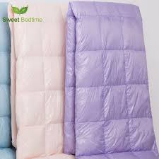 light pink down comforter functional duck down comforter portable hiking cing blanket
