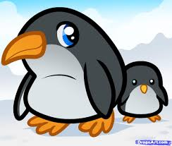 how to draw penguins for kids step by step animals for kids for