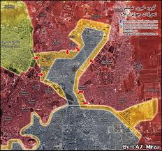 Syria Live Map by Map Update Military Situation In Aleppo City On November 27 2016