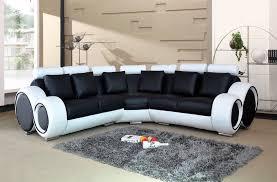 White Leather Corner Sofa Sale Black And White Bonded Leather Corner Sofa 2 Corner 2 Corner
