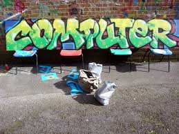 computer graffiti the centre llanelli cardiff graffiti murals