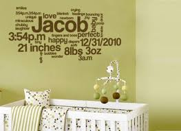 Wall Decals For Nursery Boy Baby Boy Nursery Wall Decal Ideas Baby Room Ideas Baby Wall
