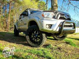2013 toyota tacoma black rims 20 10 dropstar 645mb black machined 19mm wheels with 33 12 50r20