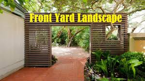 50 Yard Home Design 50 Cool Ideas Front Yard Youtube