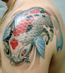 cute koi dragon tattoo meaning design idea for men and women