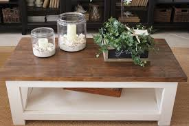Lower Coffee Table by A New Rustic Coastal Coffee Table Starfish Cottage