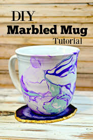 handmade mugs diy marble mugs tutorial handmade gift surviving a teacher u0027s