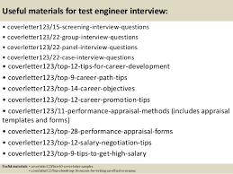 Qa Testing Sample Resume by Software Test Engineer Cover Letter Avionics Test Engineer Cover