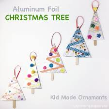 the of aluminum foil tree ornaments