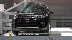 land rover discovery sport 2014 euro ncap crash test of 2014 land rover discovery sport 5 star