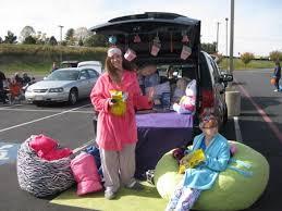 trunk or treat decorating ideas slumber parties holidays