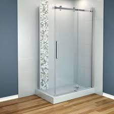 bathtub wall kit mobroi com corner shower surround kits sector clear glass enclosure backwall
