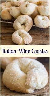 wine cookies ciambelle al vino a delicious crunchy not too sweet