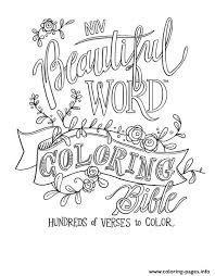 free beautiful word quotes coloring pages printable