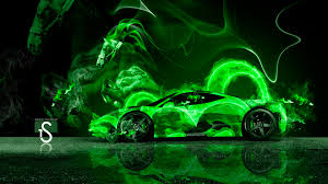 green bugatti green and black ferrari wallpaper 2 desktop wallpaper