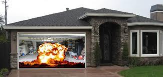 Garage Door Designs Illusions My Screen Design Garage Door Picture Throughout Doors