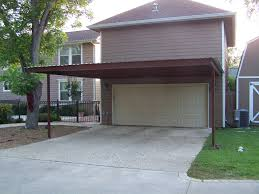 Open Carport by 27 Cool Carports Attached To Garage Pixelmari Com