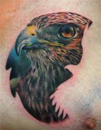 hawk tattoo by carlos rojas tattoonow