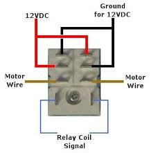 12 volt double pole double throw relay quick connect socket