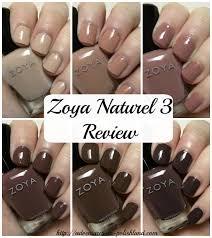 zoya nail polish naturel 3 collection swatches u0026 review