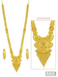 gold earrings design with weight light weight patta haar set 22k ajns57564 22kt gold necklace