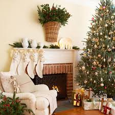 decorations christmas living room features pine christmas tree