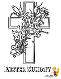 flower cross coloring pages best images about vbs crafts on