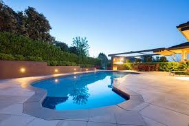 low voltage lighting near swimming pool the entertainer s garden foxys landscapes
