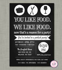 potluck invitation entertaining idea of the day keeping it school with real