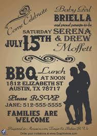 baby shower bbq cowboy invitation u2013 graphix 4 me