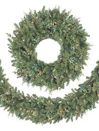 fraser fir decorated wreath from balsam hill