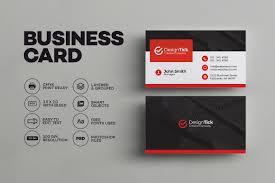 modern business card template business card templates creative