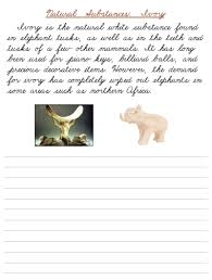 natural substances cursive worksheets u2013 printable cursive u0026 manuscript