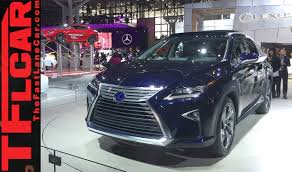 lexus guagua 2016 lexus rx 2015 new york auto show one take youtube