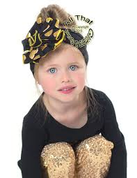 big flower headbands and gold polka dot big flower baby headbands