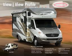 mercedes class c motorhome 2014 winnebago view view profile class c motorhomes