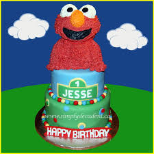 sesame birthday 3 tier fondant sesame birthday cake with 3d buttercream