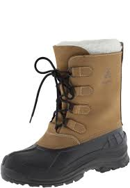 alborg tan winter boots for men by kamik