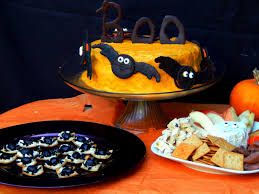 Halloween Chocolate Cake Recipe Melissa Kaylene Halloween Snacks Idea A Chocolate Orange Cake
