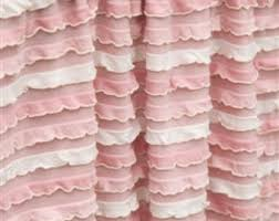 Ruffled Pink Curtains Light Pink Ruffle Curtains