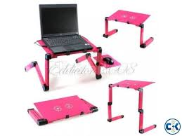 Furinno Adjustable Laptop Desks Furinno Adjustable Vented Laptop Table Desk Portable Bed Tra Clickbd