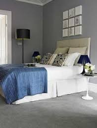 Grey Wall Bedroom Cream Carpet With Blue Grey Walls Google Search Home Ideas